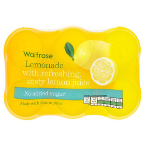 Waitrose Lemonade with Juice No Added Sugar 6 Pack