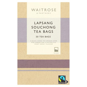 Waitrose Fairtrade Lapsang Souchong 50 Tea Bags
