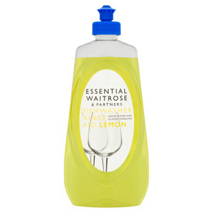 essential Waitrose Dishwasher Rinse Aid Lemon