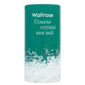 Waitrose Sea Salt Coarse Crystals