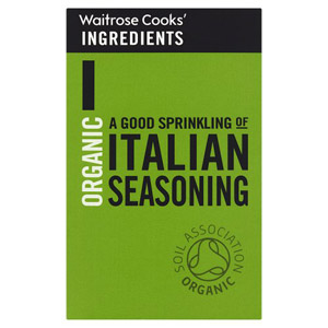 Waitrose Cooks Ingredients Organic Italian Seasoning