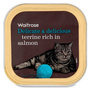 Waitrose Cat Food Terrine Salmon