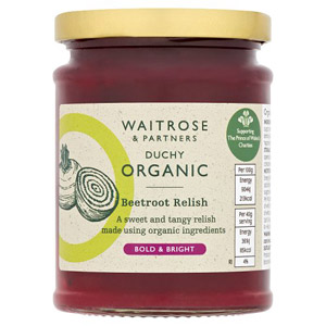 Waitrose Duchy Organic Beetroot Relish