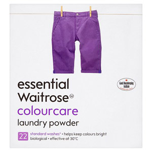 essential Waitrose Colourcare Laundry Powder 22 Washes