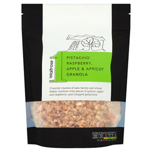 Waitrose & Partners No.1 Pistachio & Raspberry Granola