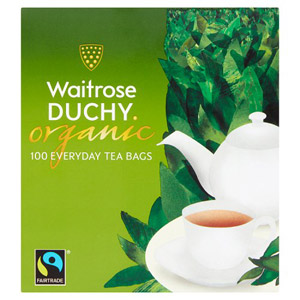 Waitrose Duchy Organic Everyday Blend 100 Tea Bags