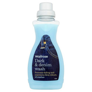 Waitrose Dark & Denim Liquid Wash 18 Washes