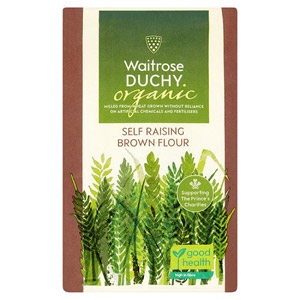 Waitrose Duchy Organic Brown Self Raising Flour 1500g