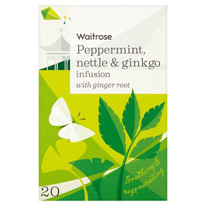 Waitrose LOVE life Infusion Peppermint Nettle & Ginkgo