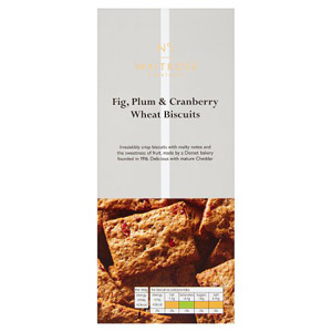 Waitrose & Partners No.1 Fig Plum & Cranberry Wheat Biscuits