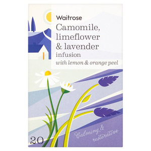 Waitrose LOVE life Camomile Limeflower & Lavender Tea
