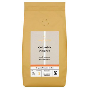 Waitrose 1 Organic Ground Coffee Colombian