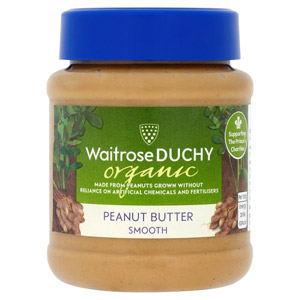 Waitrose Peanut Butter Organic Smooth