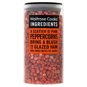 Waitrose Cooks Ingredients Organic Pink Peppercorns