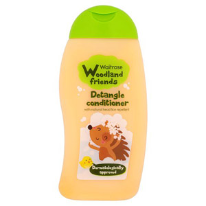 Waitrose Woodland Friends Detangle Conditioner