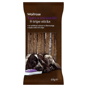 Waitrose Tripe Sticks 8s