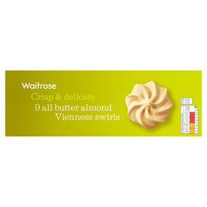 Waitrose Viennese Swirls Almond