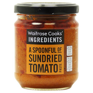 Waitrose Cooks Ingredients Sundried Tomato Paste