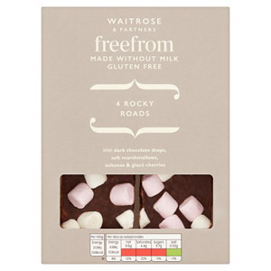 Waitrose LOVE life Free From Rocky Roads 4 Pack