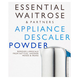 essential Waitrose Appliance Descaler Powder