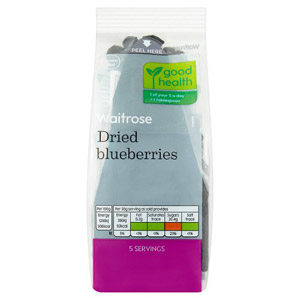 Waitrose LOVE life Dried Blueberries