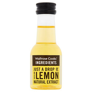 Waitrose Cooks Ingredients Sicilian Lemon Extract