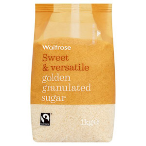 Waitrose Sugar Golden Granulated