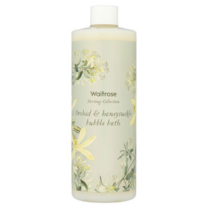 Waitrose Orchid & Honeysuckle Bubble Bath