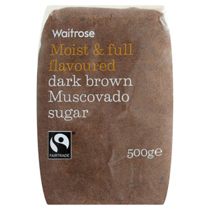 Waitrose Sugar Dark Brown Muscovado