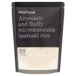 Waitrose Microwaveable Basmati Rice