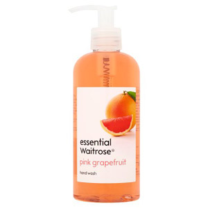 essential Waitrose Hand Wash Pink Grapefruit
