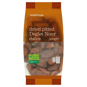 Waitrose Dried Pitted Deglet Nour Dates