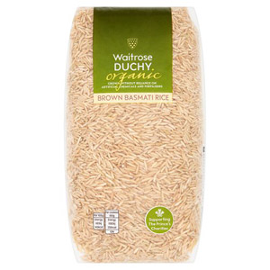 Waitrose Duchy Organic Brown Basmati Rice