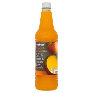 Waitrose Squash 50% Apple & Mango Juice