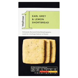 Waitrose 1 Earl Grey & Lemon Shortbread