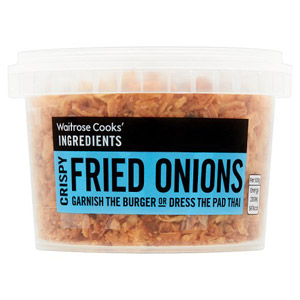 Waitrose Cooks Ingredients Crispy Fried Onions