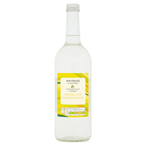 Waitrose Sparkling Spring Water with Elderflower