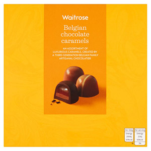 Waitrose Belgian Chocolate Caramels