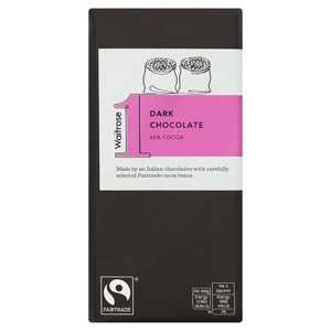 Waitrose & Partners No.1 Dark Chocolate Bar