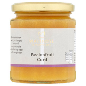 Waitrose & Partners No.1 Passionfruit Curd