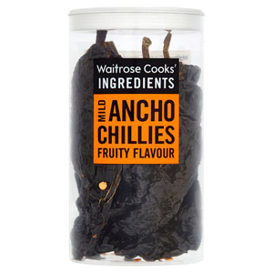 Waitrose Cooks Ingredients Ancho Chillies