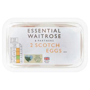 essential Waitrose 2 Scotch Eggs
