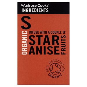 Waitrose Cooks Ingredients Organic Star Anise