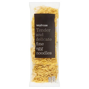 Waitrose Fine Egg Noodles