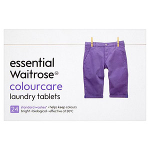 essential Waitrose Colourcare Tablets 24 Washes