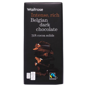 Waitrose Continental Plain Chocolate Large Bar