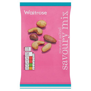 Waitrose Roasted Salted Savoury Mix