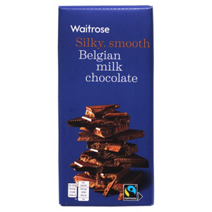 Waitrose Belgian Milk Chocolate