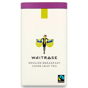 Waitrose Loose Leaf English Tea Tin
