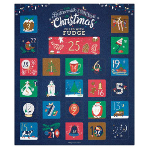 Buttermilk Cornish Fudge Advent Calendar